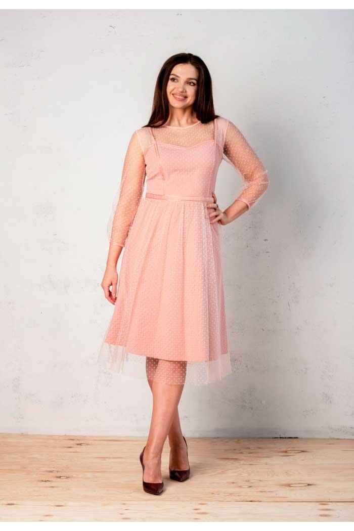 Платье Angelina розовое 499-1
