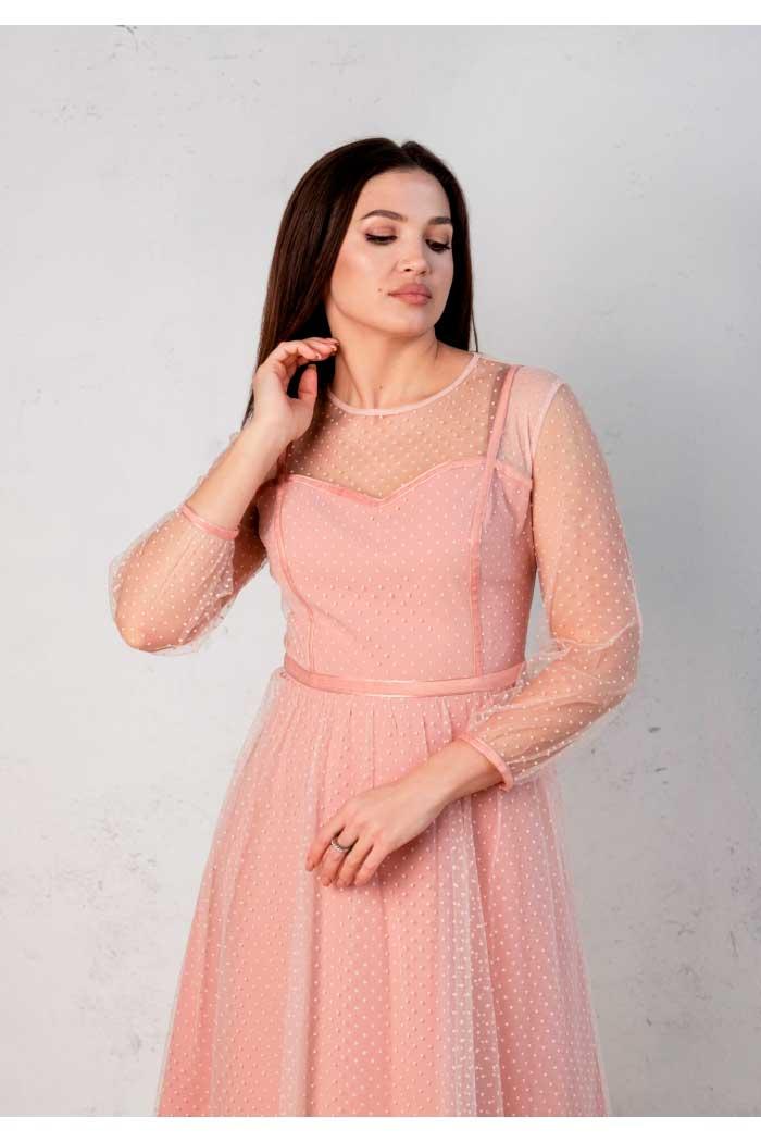 Платье Angelina розовое 499-2