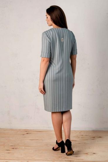 Платье Angelina голубое 521-7