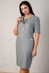 Платье Angelina голубое 521-9