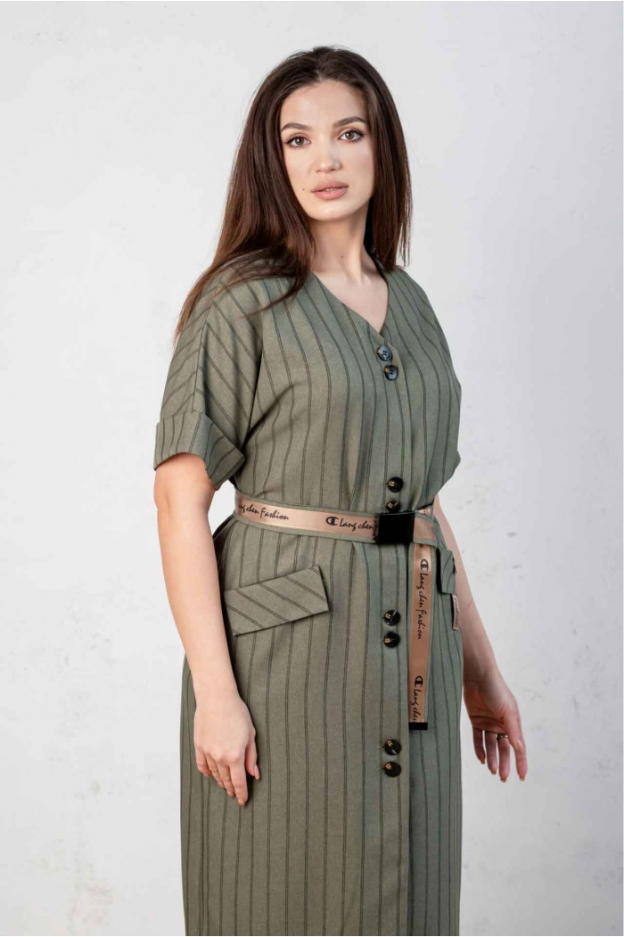 Платье Angelina хаки 531-2