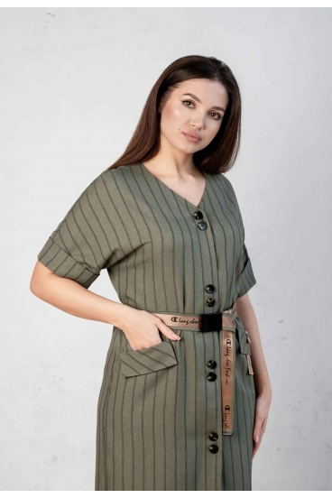 Платье Angelina хаки 531-5