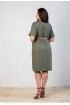 Платье Angelina хаки 531-6