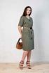 Платье Angelina хаки 531-3