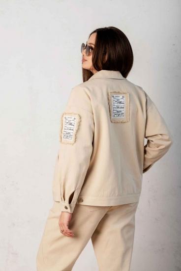 костюм Angelina песочный 649-1