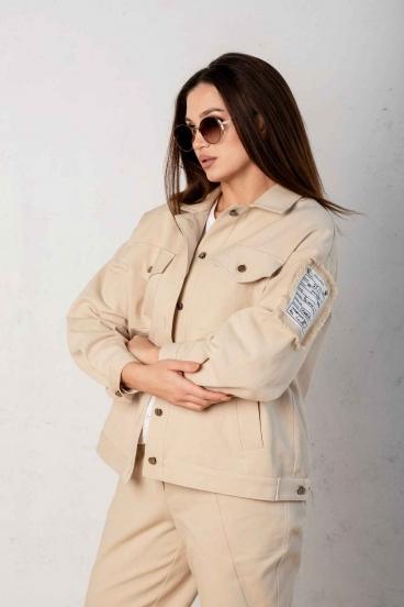 костюм Angelina песочный 649-3