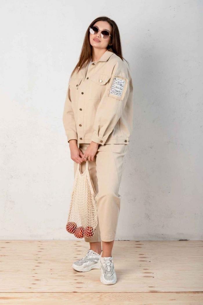 костюм Angelina песочный 649-6